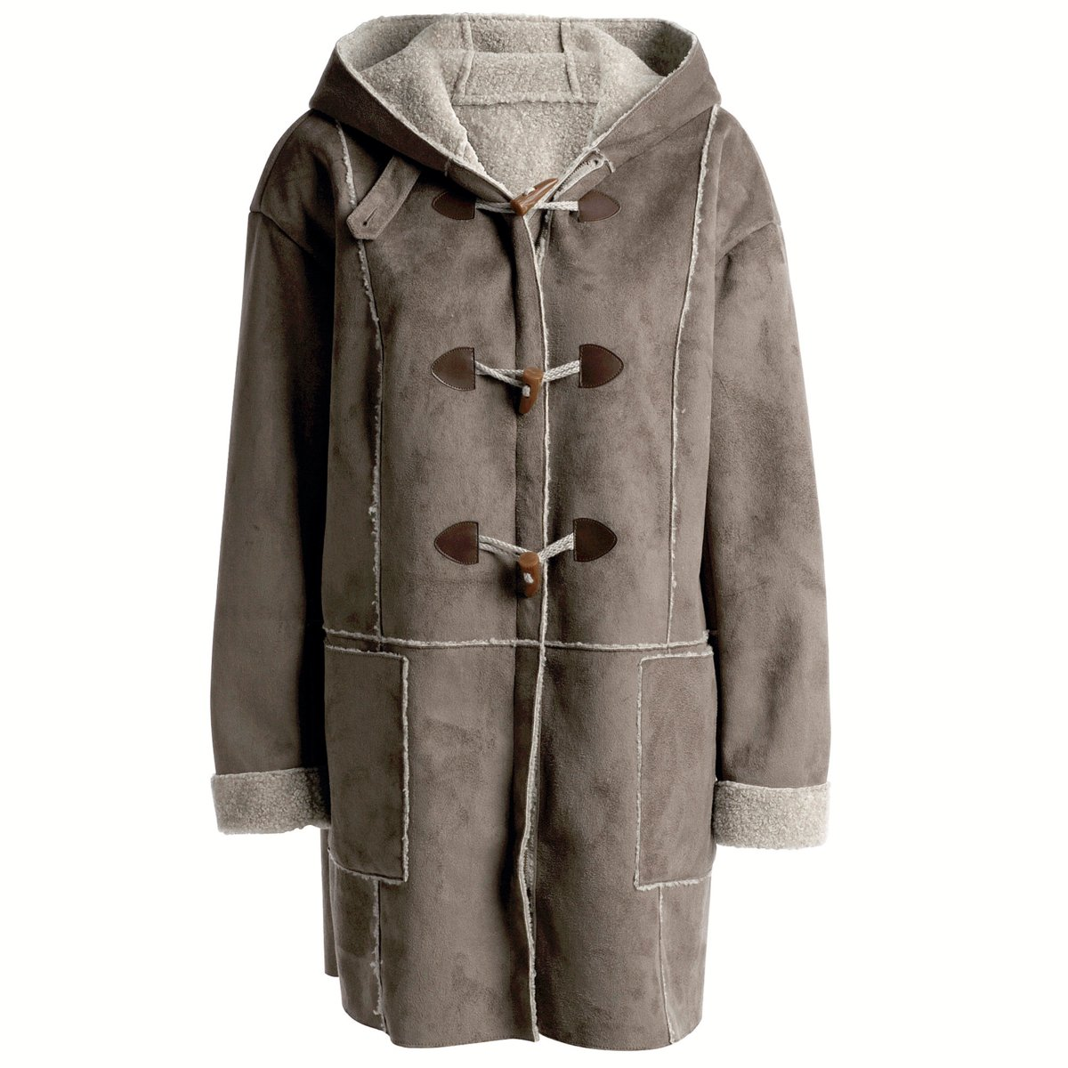 Vegan Duffle Coat