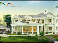 3850 Sq. Ft. Luxury House Design home appliance