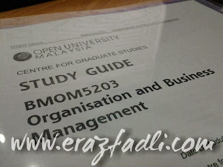 BMOM5203 | Organisation and Business Management