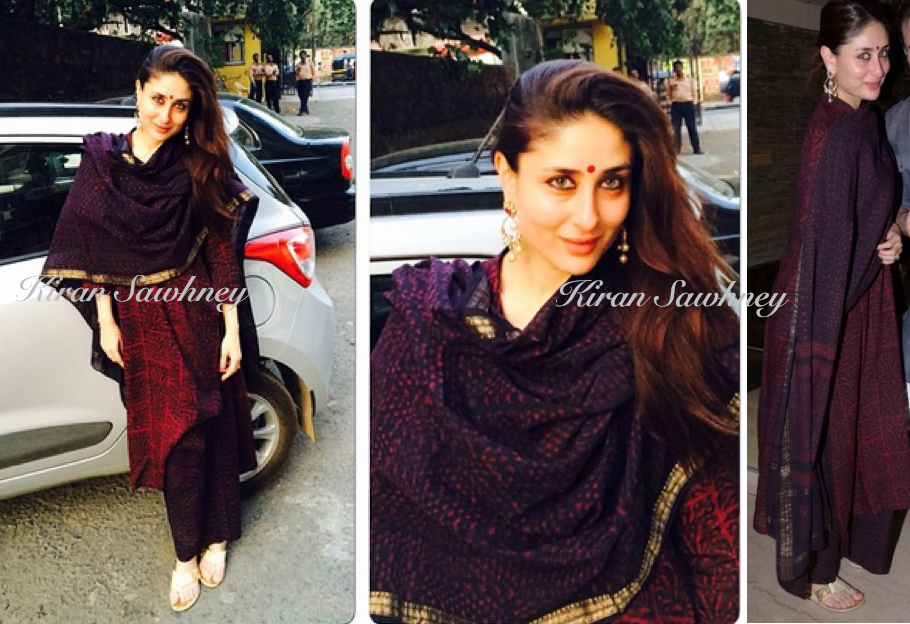 Kareena Kapoor at Soha's Mehendi