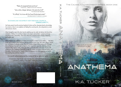 Cover Reveal: Anomaly + Casual Enchantment Series by K.A. Tucker