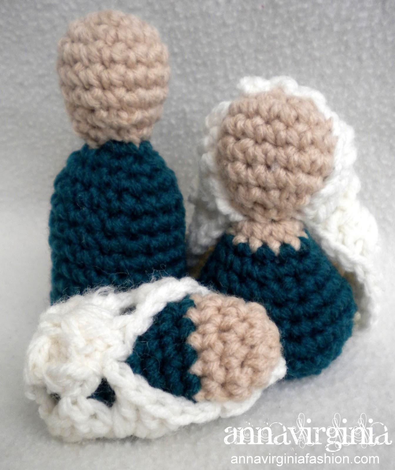 Crochet Patterns Nativity Scene : Crochet Nativity