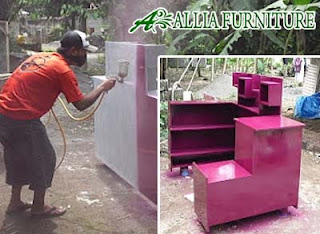 Bahan Proses Warna Finishing Semprot Cat Duco