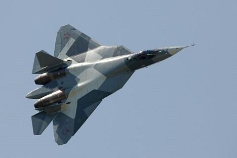 Jet Tempur Siluman PAK FA Rusia Diuji Coba pada 2018