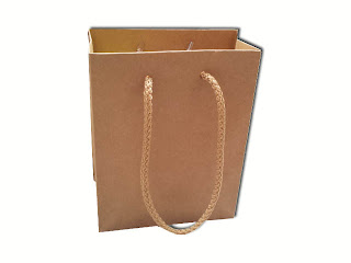 BROWN MINI PAPER BAG