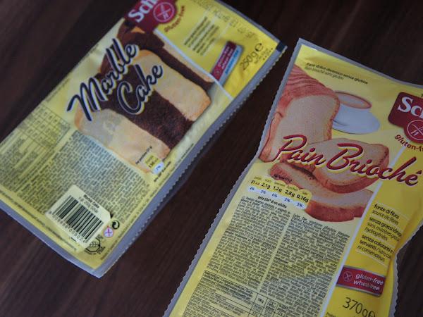 NEU: glutenfreier Marmorkuchen & Brioche Brot von Schär
