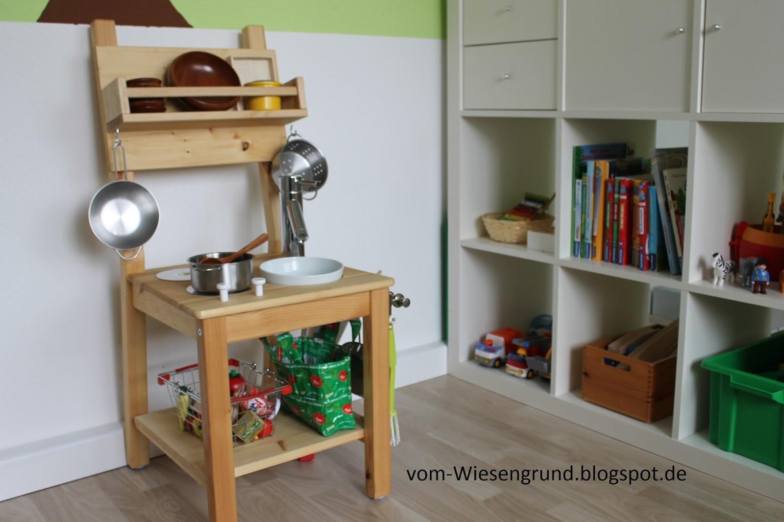 Vom Wiesengrund: Kinderküche selbst gebaut