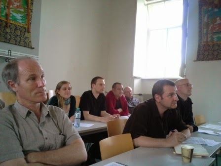 Audience of the Buddhist Translation workshop.