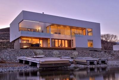 Decoraciones y mas fachadas de casas modernas y lujosas for Casas modernas y lujosas