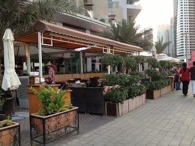 Salsa Restaurant Dubai marina