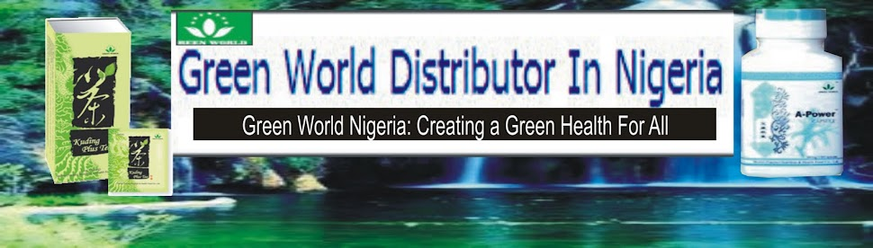 GREEN WORLD NIGERIA: Herbal Products And Supplements