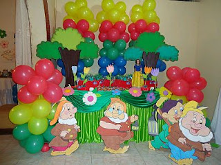 Snow White Decoration for Children Parties
