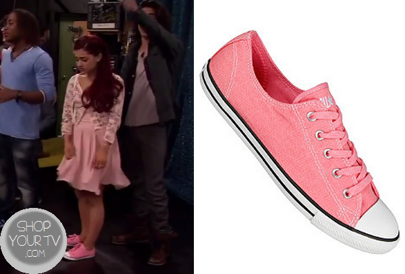 Victorious: Season 4 Episode 10 Cat's Pink Lace up Shoes ...
