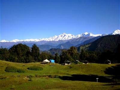 Nanda Devi Mountains