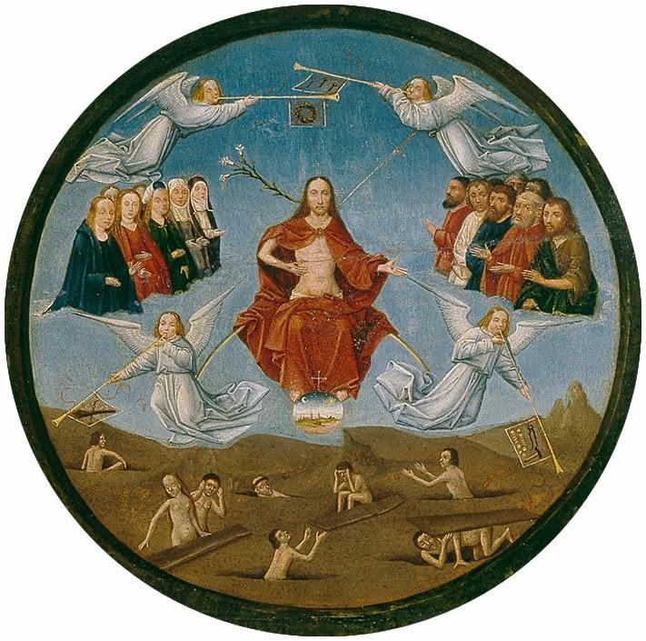 El Bosco - Mesa de los pecados capitales - El juicio