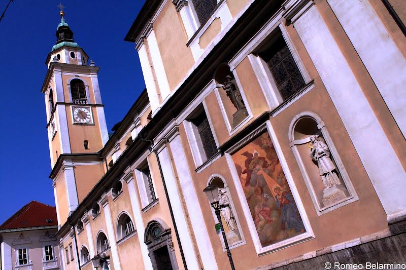 Cathedral of St. Nicholas Ljubljana Slovenia