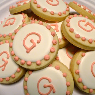 G Monogram Cookies by Nina's Show & Tell