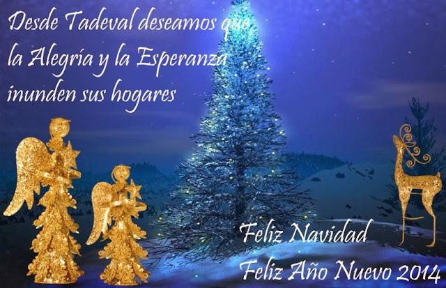 Tadeval.com Les Desea Feliz Navidad y que tengan un Gran Año 2014