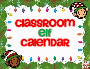 http://www.teacherspayteachers.com/Product/Elf-Classroom-Holiday-Christmas-Calendar-Free-1009108