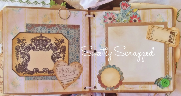 Sweetly Scrapped Once Upon A Time Scrapbook Album
