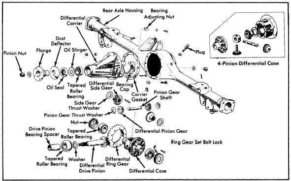 Toyota All Models 1975 77 Drive Axles 11 on 1964 ford truck wiring diagram
