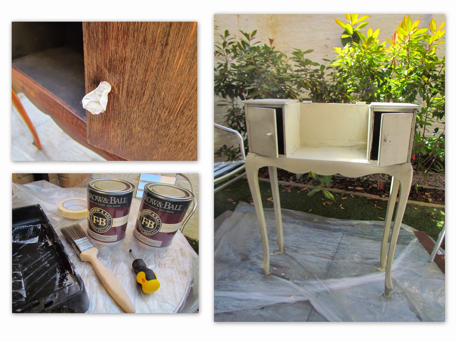 upcycling furniture with farrow and ball paints and primers