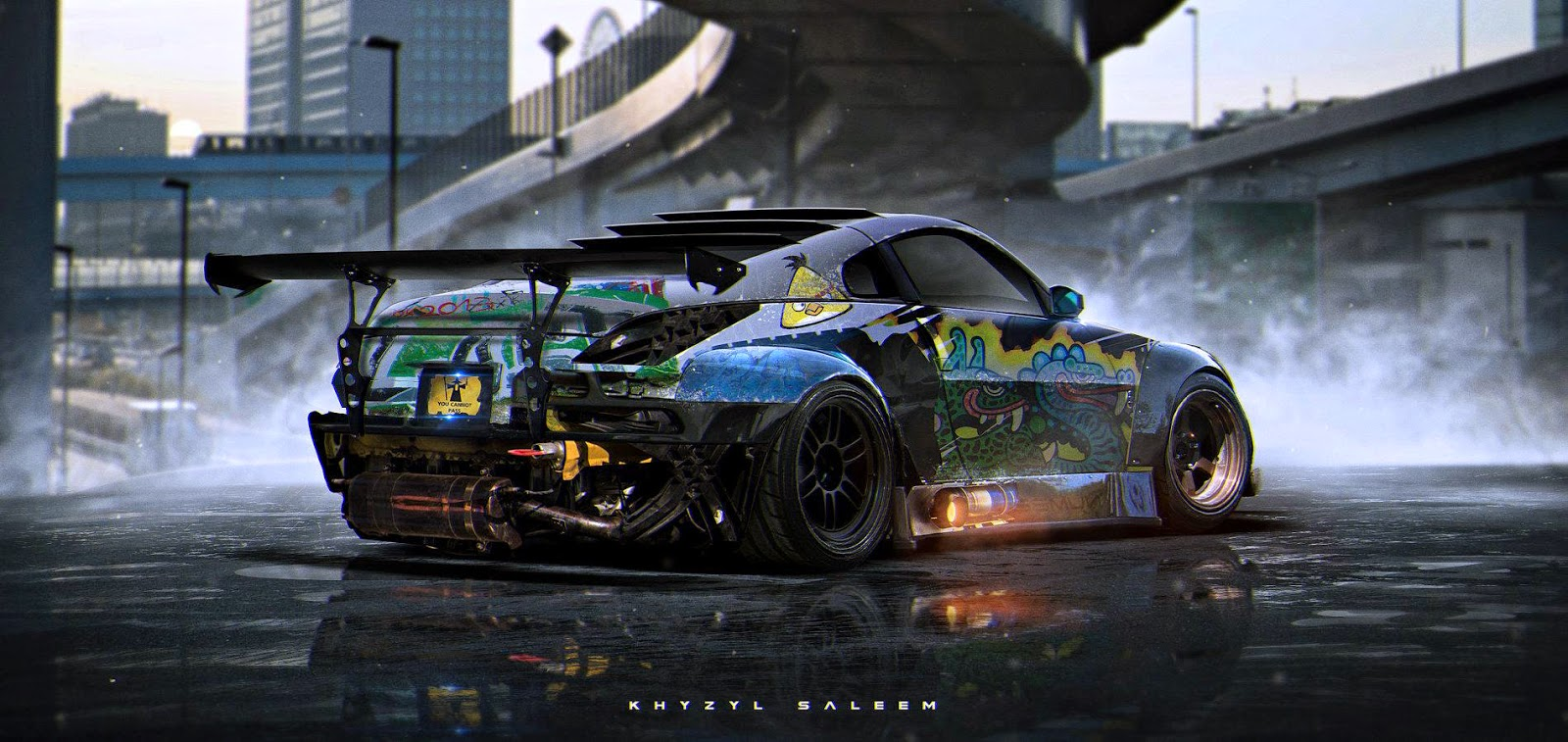 download sci-fiction concept car wallpaper made21 year old artist