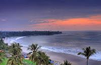 contoh gambar keindahan pantai anyer banten
