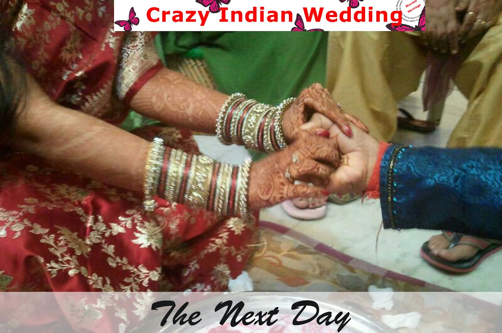 indian bride real wedding