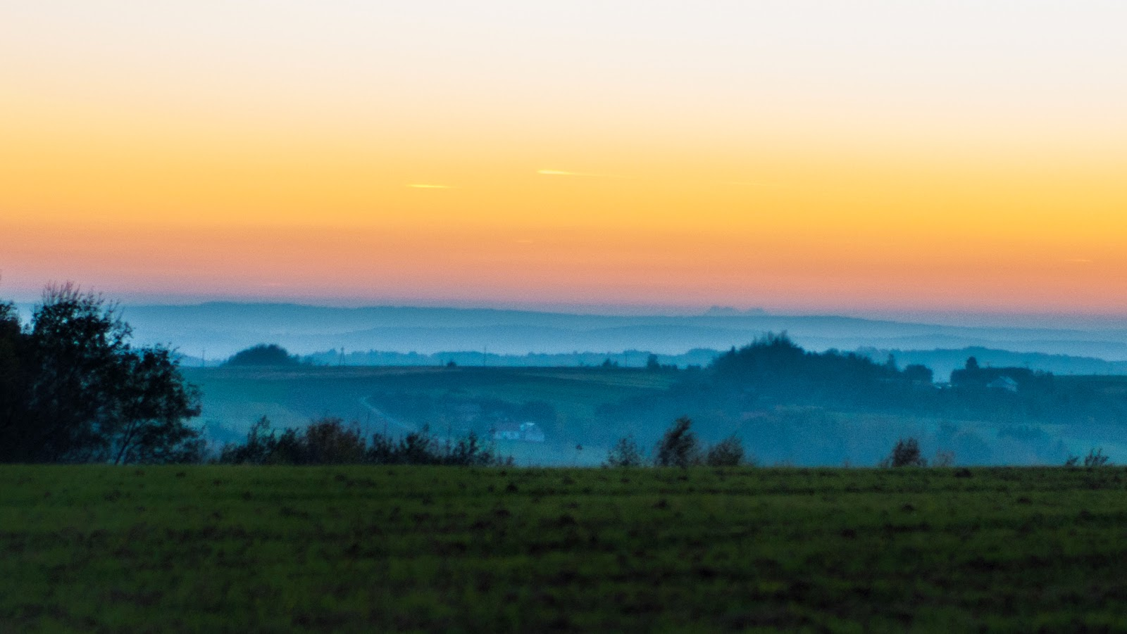 Tatry z Husowa, dalekie obserwacje, widok, pierwsza, pionierska, obserwacja, Podkarpacie, pogórze dynowskie