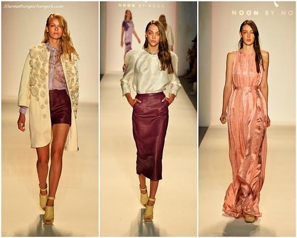 NoonbyNoor S/S2014 runway dresses