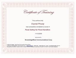 Benefits Of Getting Your Food Handling Certificate From Online Courses