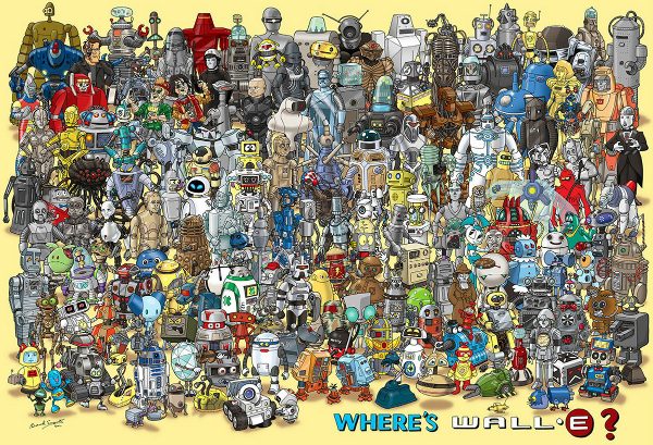 Onde Está O Wall-E?