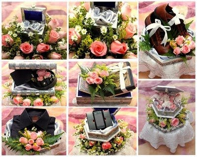 Decorated Wedding Gifts Several Trays Of Are Exchanged Between The Bride Groom After Nikah They Exchange Rings And Only Then Can Touch