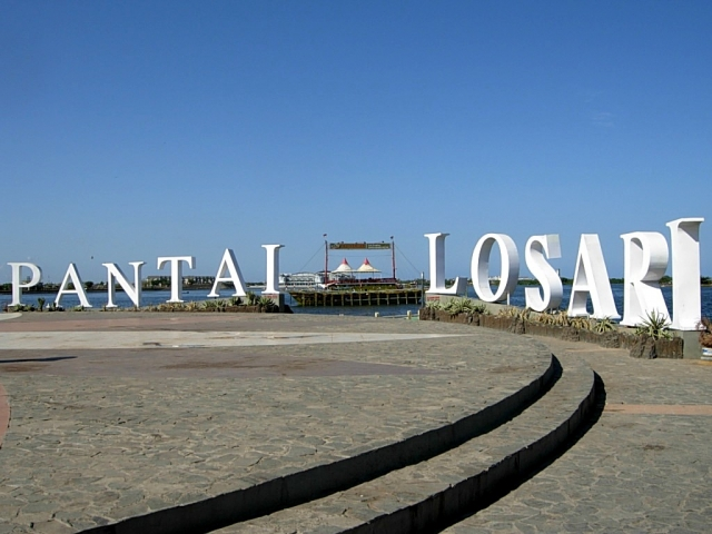 Pantai Losari Makassar Sulawesi Selatan