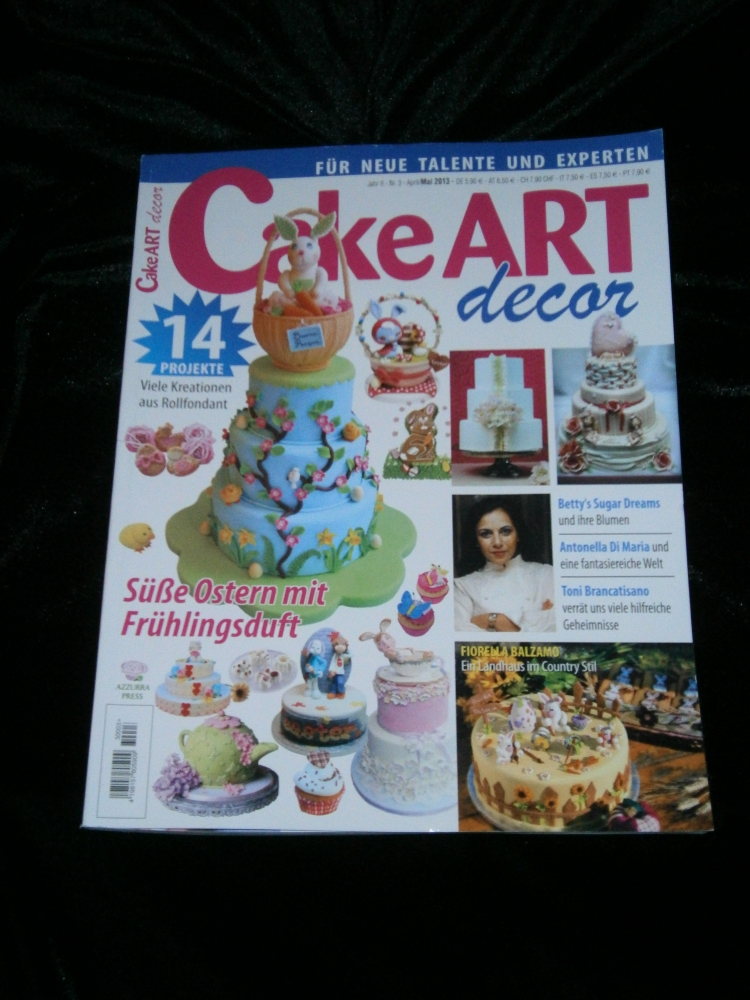 Cake Art Spezial Zeitschrift : Die Kuchenuli: Marz 2013