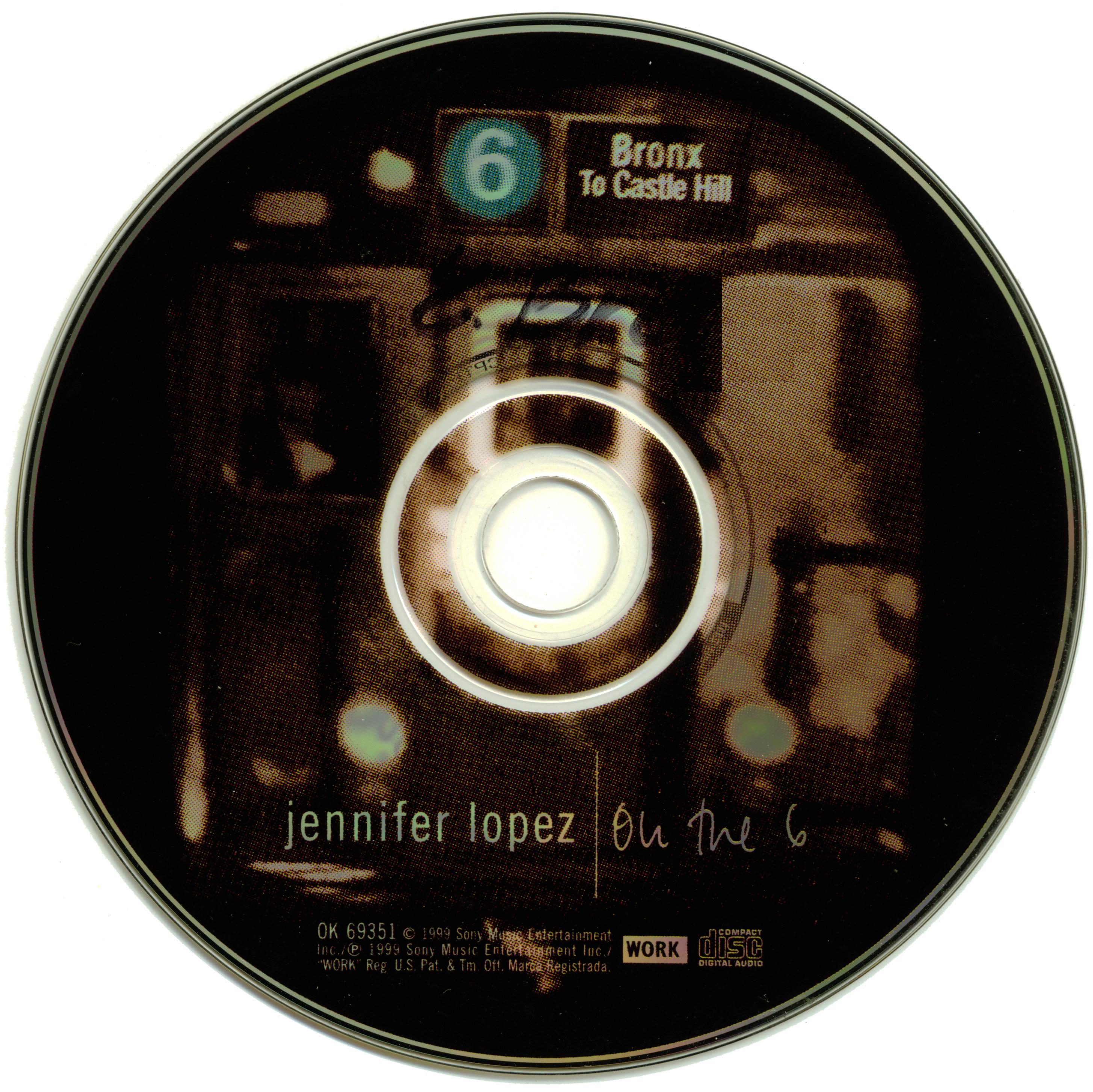 Jennifer Lopez On the 6 Album