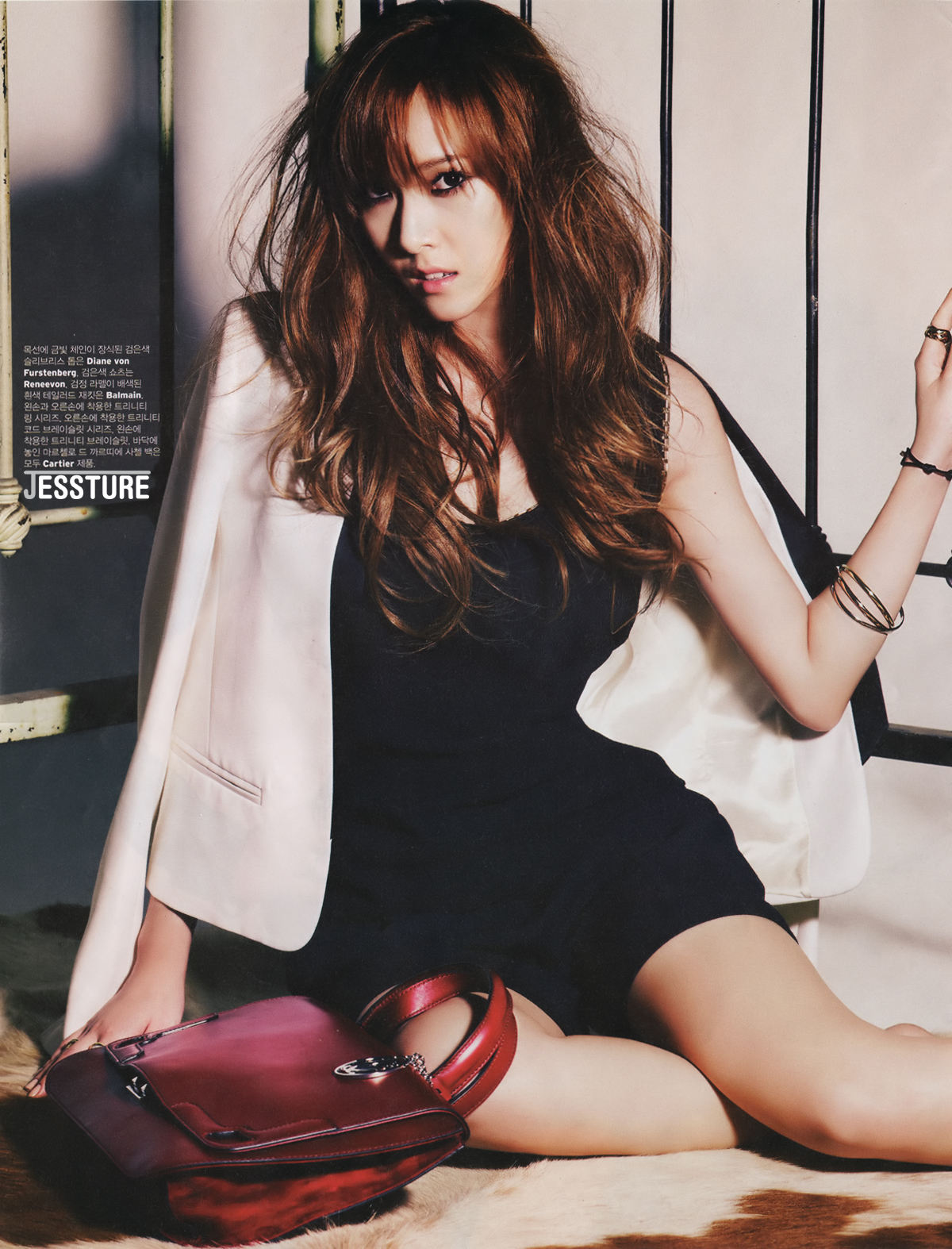 SNSD Jessica W Korea Magazine