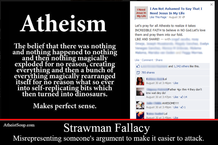 straw man fallacy essay Once one understands the straw man fallacy and can recognize its use in an argument then he or she can make a more informed decision it is possible for one to have a straw man fallacy while working in a team environment.