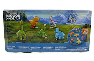 tomy the good dinosaur mini figures
