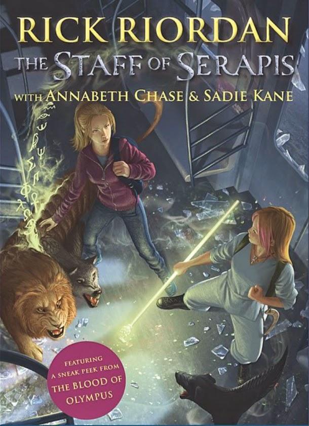 The Staff of Serapis by Rick Riordan