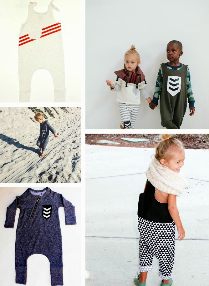 Kids jumpsuits by Duchess and Lion - Cool kidswear made in the USA