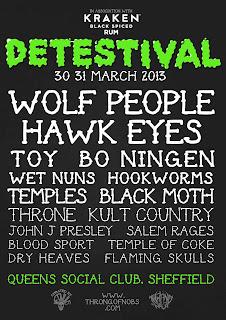 Wet Nuns festival Detestival
