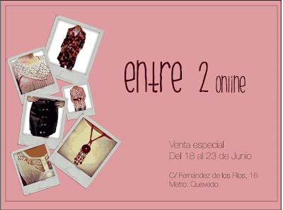 SHOWROOM ENTRE2ONLINE EN MADRID