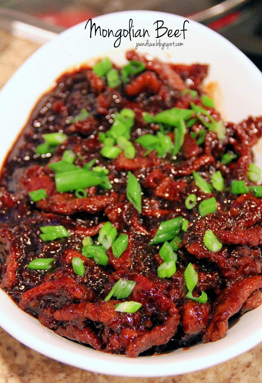 Jo and Sue: Mongolian Beef