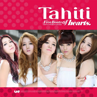 TAHITI - Five Beats Of Hearts [1st Mini Album]