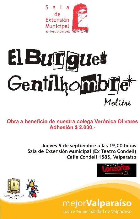 Función Beneficio en Teatro Condell Valparaíso Septiembre 2010