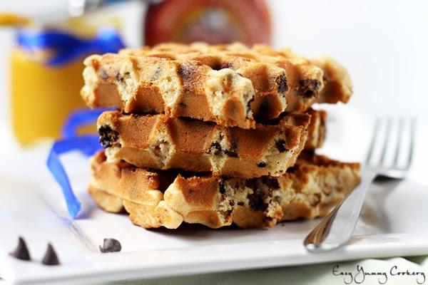 Waffle Recipe Using Baking Mix And Chocolate Chips