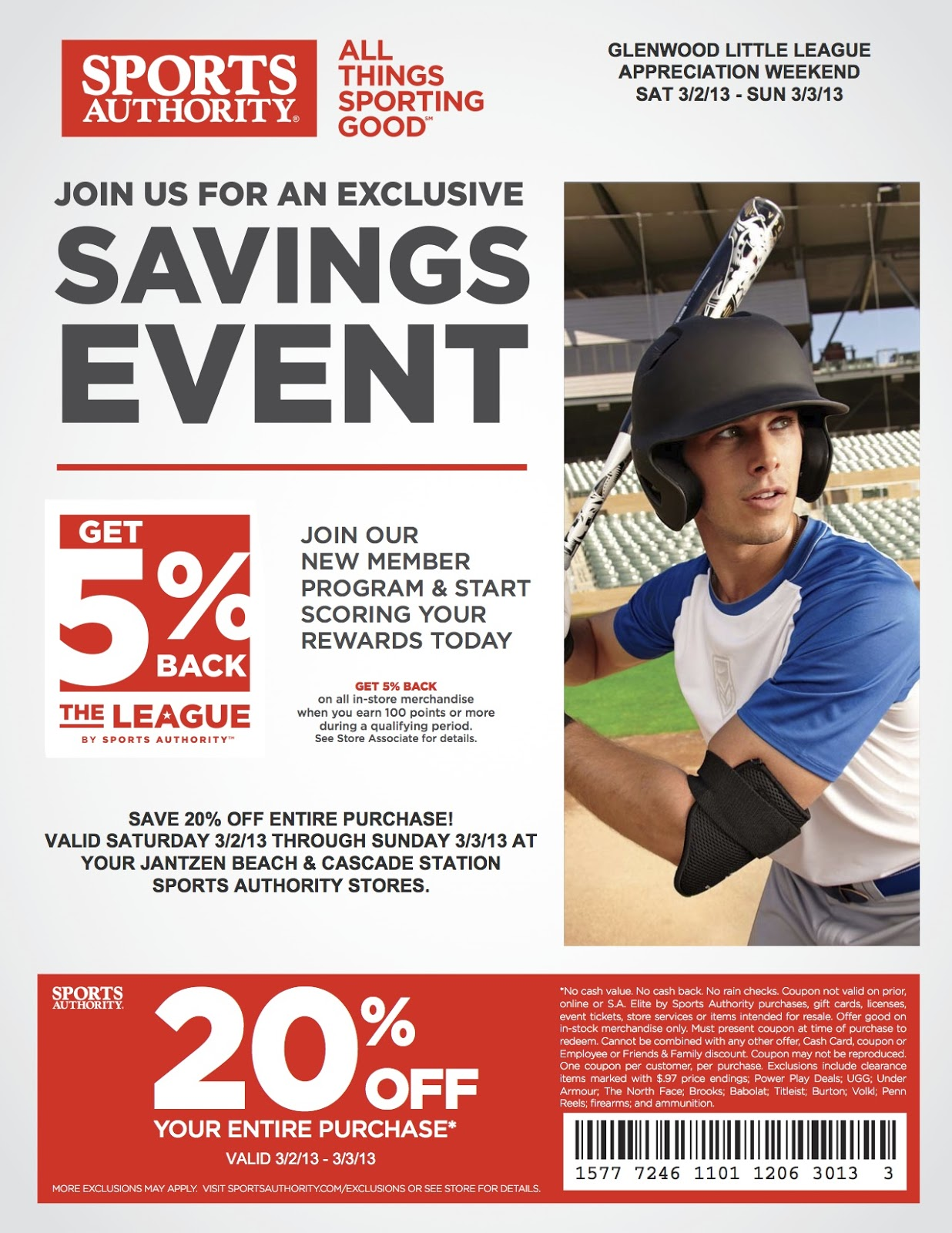 Sportsauthority coupon code