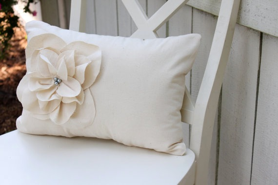 Shabby Chic Pillows On Etsy : Shop Update...Shabby Chic Fraying Floral Pillows - Love of Family & Home
